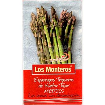 Los Monteros Espárragos verdes trigueros cortos D.O. 20-40 piezas Lata 205 g neto escurrido