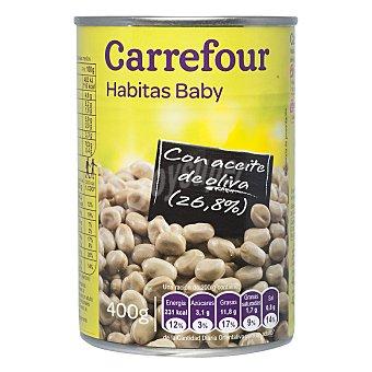 Carrefour Habitas baby con aceite de oliva 400 g