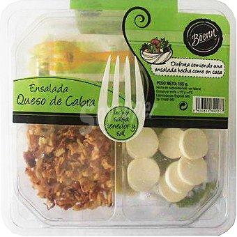 Boenn ensalada queso de cabra lista para tomar (contiene salsa, tenedor y sal)  tarrina 155 g