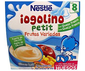 Nestlé Iogilino Petit de frutas variadas Pack 4x100 g