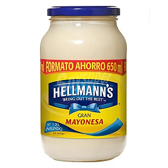 Hellmann's Salsa mayonesa Frasco de 650 ml