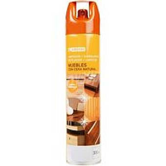 Eroski Limpia muebles Spray 300 ml