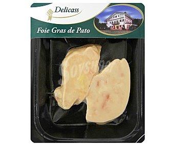 Delicass Foie Gras de Pato Fresco 100 gramos