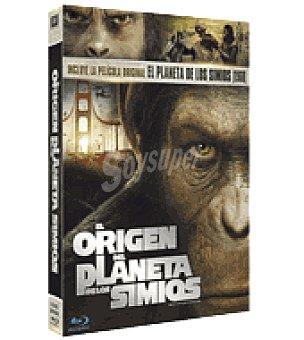 El origen del planeta de los simios (dvd+br+cd) + planet Dvd