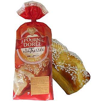 LA FOURNEE DOREE brioche trenza con granos de azucar bolsa 400 g