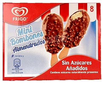 Frigo Mini bombón almendrado sin azúcares añadidos con sabor a vainilla 8 unidades de 50 mililitros