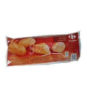 Carrefour Panecillos precocidos Pack 4x75 g