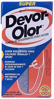 Devor-olor Plantilla súper 2 ud