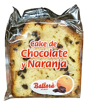 BALLARA Surtido granel pastel cake chocolate y naranja 1 u (50 g peso aprox.)
