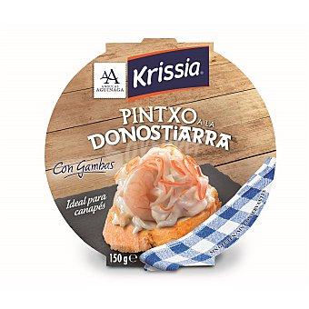 KRISSIA Pintxo a la Donostiarra con gambas 150 gramos