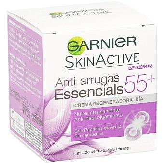 Skin Naturals Garnier Crema regenerador Essencials 55+ 50 ml