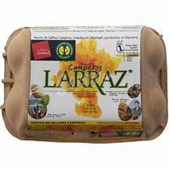 LARRAZ Huevo Reyno Gourmet 6 unidades