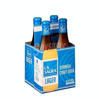 La Sagra Cerveza artesanal burro de sancho Botellin pack 4 x 330 ml - 1320 ml