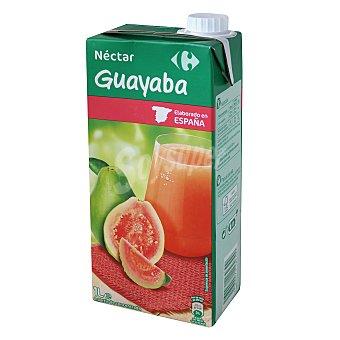 Carrefour Néctar de guayaba Brik 1 l