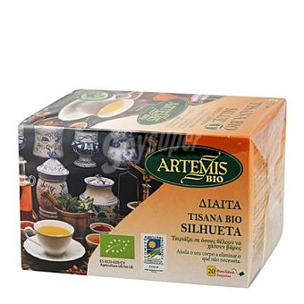 Artemis Bio Tisana bio silue artemis 20 ud