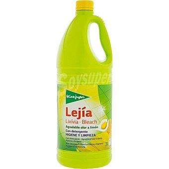 Aliada Lejía con detergente limón Botella 2 l