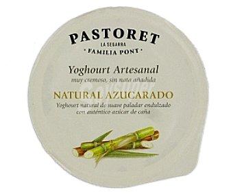 El pastoret Crema de yogur natural con azúcar 125 Gramos
