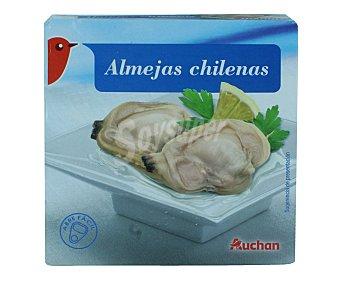 Auchan Almejas chilenas al natural Lata de 63 gramos