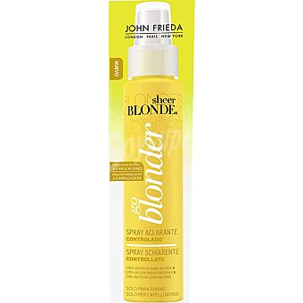 JOHN FRIEDA Sheer Blonde Aclarador controlado Spray 100 ml
