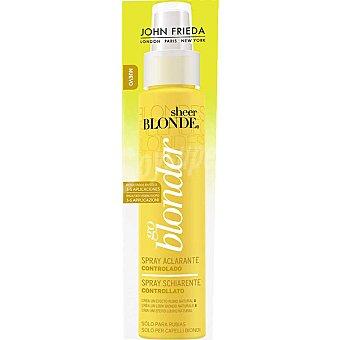 John Frieda Sheer Blonde Aclarador controlado Spray 100 ml