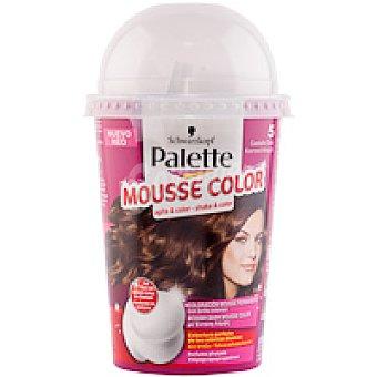 Palette Schwarzkopf Tinte castaño claro Nº5 Mousse Color Caja 1 unid