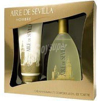 Aire de Sevilla Colonia para hombre Vaporizador 150 ml + Body