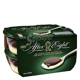 After Eight Nestlé Postre de menta con chocolate Pacl 4 x 70 g