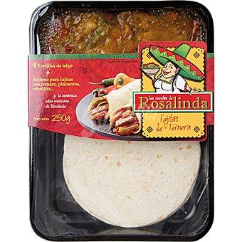 LAS RECETAS DE ROSALINDA Fajitas de carne Envase de 250 g