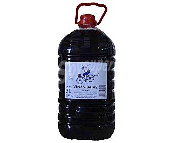 Viñas Bajas Vino Tinto de Mesa Garrafa 5 Litros
