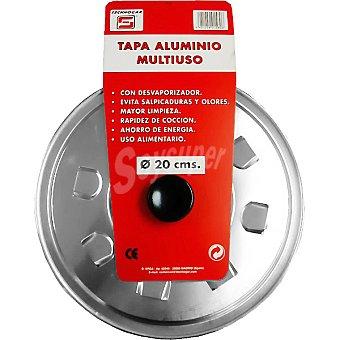 TECNHOGAR Tapa de aluminio multiuso de 20 cm 1 Unidad