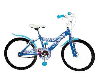 """FROZEN Bicicleta junior de 20"""" con 1 velocidad, modelo Frozen Disney 1 unidad"""
