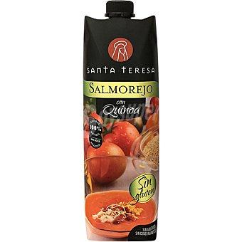 Santa Teresa Salmorejo con quinoa 100% natural sin gluten envase 1 l envase 1 l