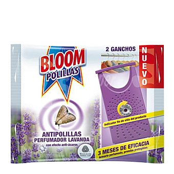 Bloom Gancho antipolillas de lavanda Pack 2 unid