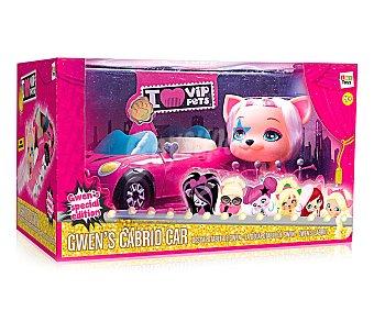 I LOVE VIP PETS Mini mascota Gwen con su descapotable y accesorios 1 unidad