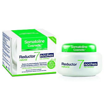 Somatoline Cosmetic Reductor natural para piel sensible 7 noches 400 ml