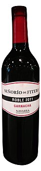 SEÑORIO FITERO Vino tinto roble Botella de 750 cc