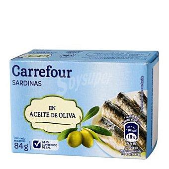 Carrefour Sardina baja en sal Caja de 84 g