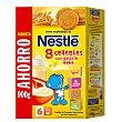 Papilla instantánea 8 Cereales con galleta Maria desde 6 meses paquete 900 g Nestlé