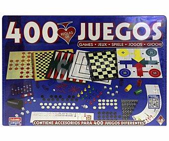 Falomir juegos Juego de mesa Juegos reunidos, con 400 juegos diferentes, de 2 a 4 jugadores JUEGOS.