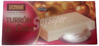 Hacendado Turron coco Pastilla 300 g