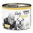 Only comida húmeda para perros adultos con pollo Lata 185 g Retorn