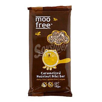 Moo Free Tableta de chocolate con avellanas sin lactosa 100 g
