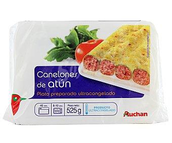 Auchan Canelones de atún 525 gr
