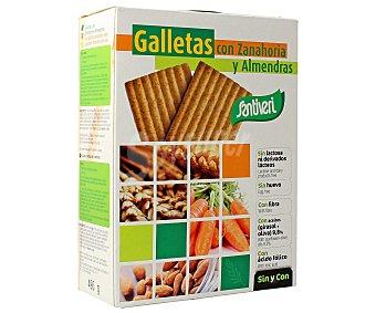 Santiveri Galletas de almendras y zanahoria Paquete 490 g