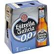 Cerveza 0,0% botella 6x25cl Estrella Galicia