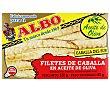 Filetes de Caballa del Sur en Aceite de Oliva 85g Albo