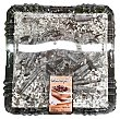 Tarta selva negra 30 raciones (cuadrada) pasteleria congelada 1 u - 2 kg Hacendado