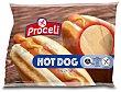 Panecillos Hot Dog sin Gluten 2 unidades, 150 g Proceli