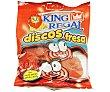 Discos de Fresa Bolsa de 100 Gramos King Regal
