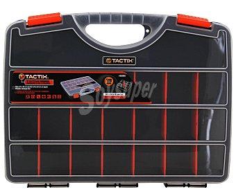 TACTIX Organizador de 30 Centímetros con Tapa y 21 Compartimentos 1 Unidad